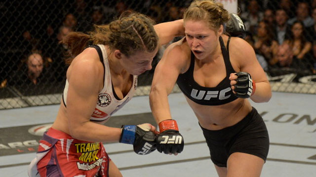 Rousey vs. McMann; Dizz Picks and Results